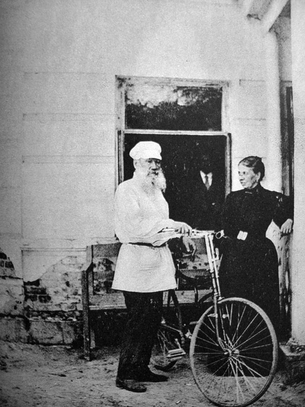 Tolstoy: the most famous cycling author?