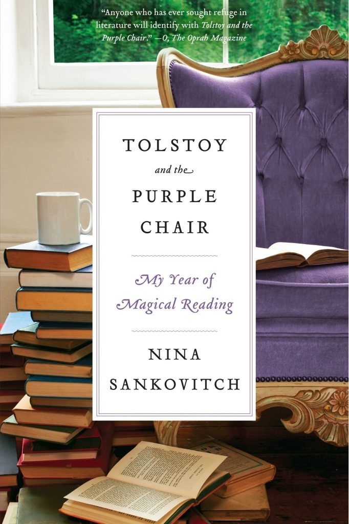 Bibliotherapy for loss in Tolstoy and the Purple Chair