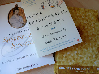 Shakespeare's Sonnets: criticism and my lovely hardback