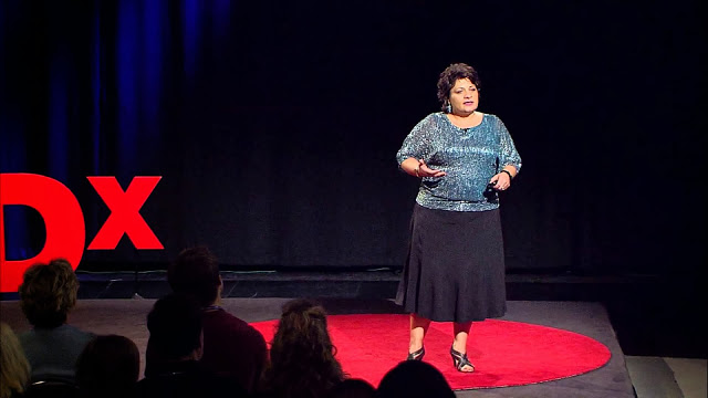 Helen Abdali Soosan Fagan TED talk for PTSD