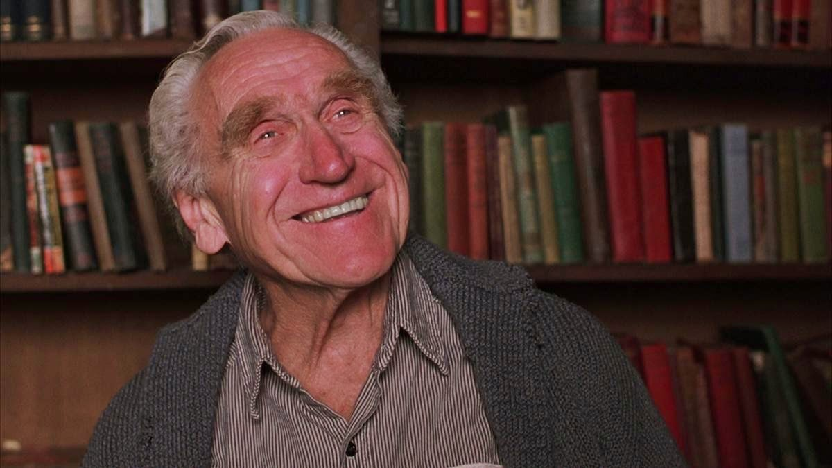 Brooks from The Shawshank Redemption and his library