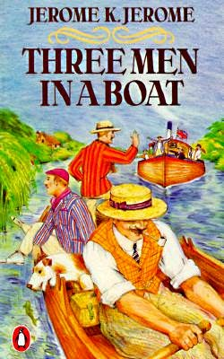 Three Men in a Boat as a mood-boosting book for summer