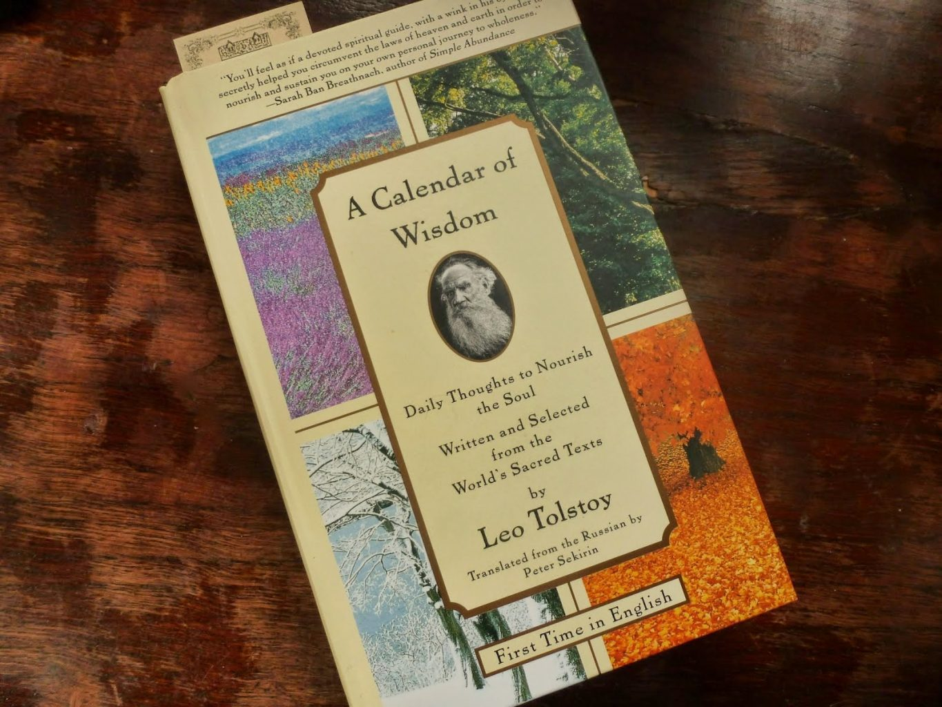A Calendar of Wisdom by Leo Tolstoy as a book we all should own