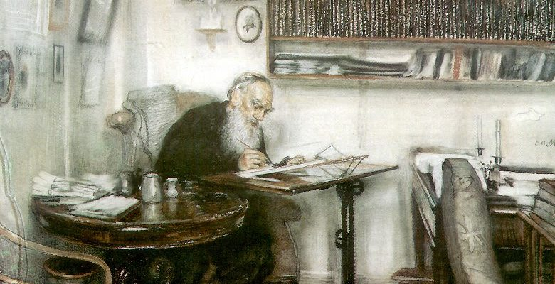 Celebrating Tolstoy's 186th Birthday with a Giveaway of A Calendar of Wisdom