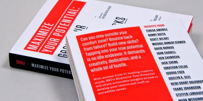 Find meaningful work & nurture creativity with the 99U book series