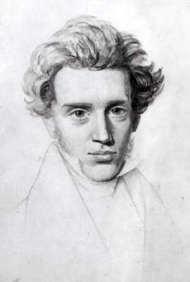 "Kierkegaard on how ""if one just keeps on walking, everything will be all right"""