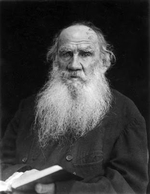 "Tolstoy on doing ""a lot of bad things, without wishing to – simply from imitating grown-ups"""
