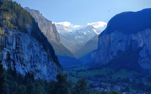 Living and hiking the literary heritage of Tolkien in the Swiss Alps